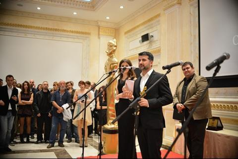 Hisham Zaman picked up the Golden Goddess award in main competition for Before Snowfall